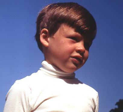 Photo of Nic Marks in the childhood